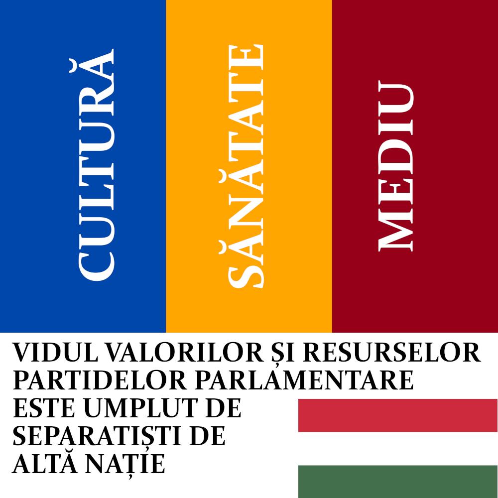 Cultura, Sănătatea și Mediul României nu sunt negociabile!