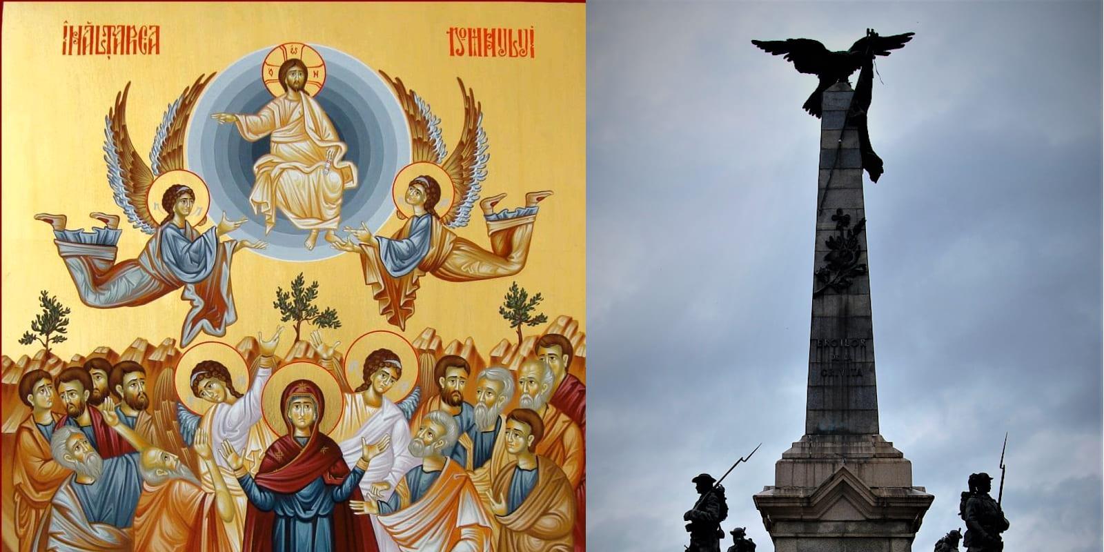 Cuvânt despre Praznicul Înălțării Domnului și despre Ziua Eroilor în viața Bisericii