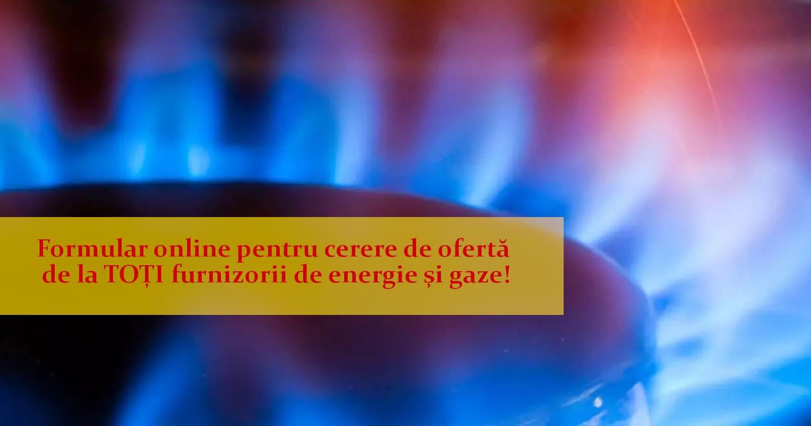 Solicitați oferte de prețuri de la TOȚI furnizorii de energie și gaze