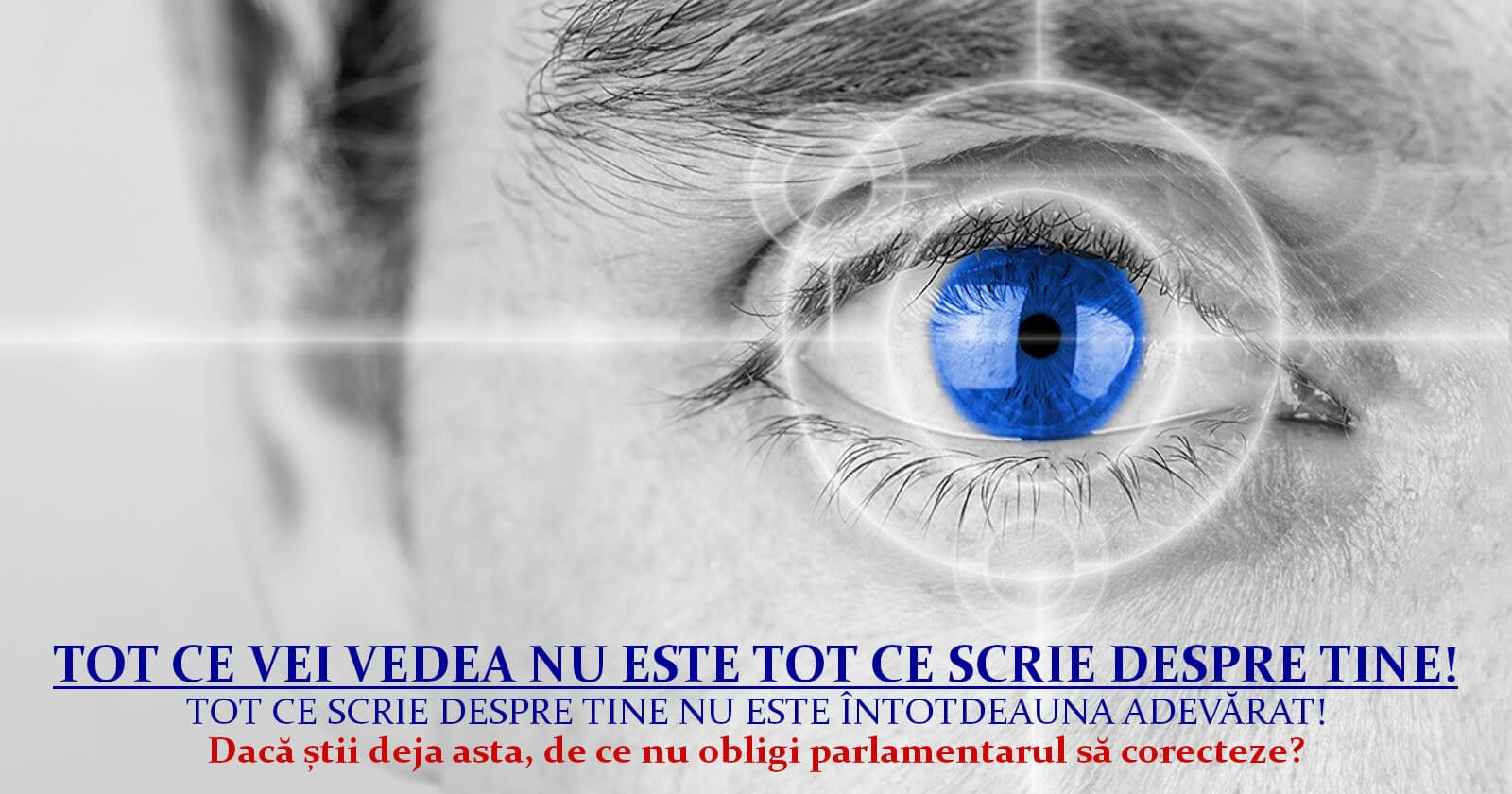 """""""Digitalizarea"""" României ... cu limitarea accesului la informațiile care te privesc"""