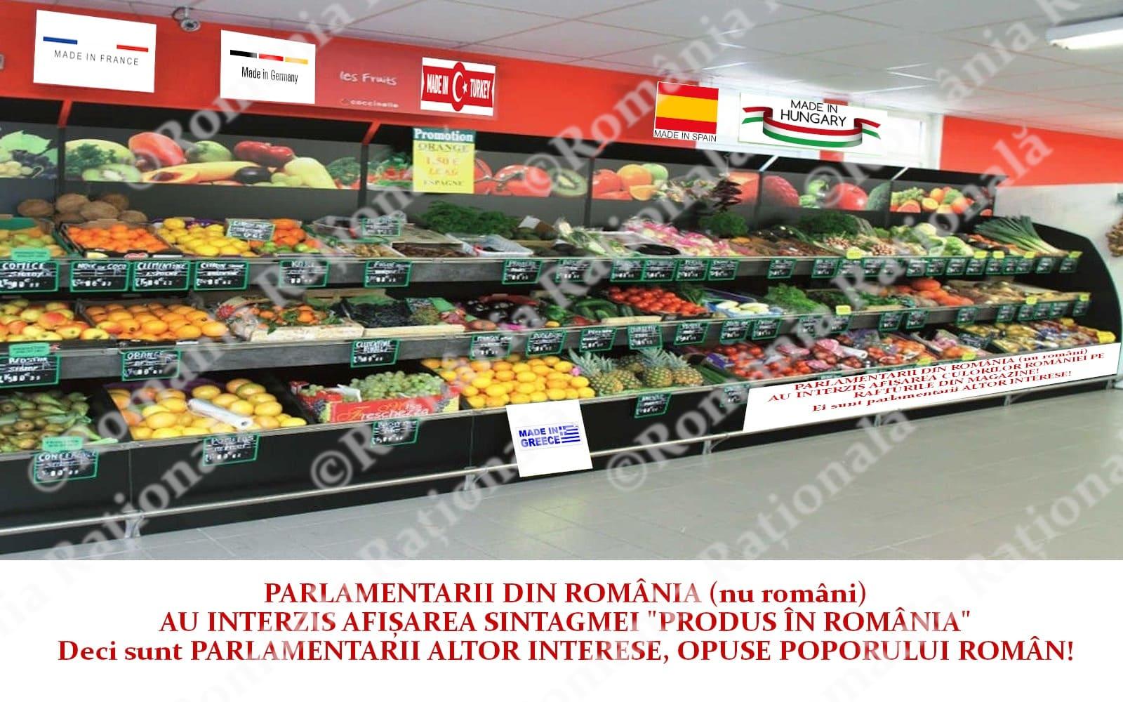 """Produs în România"", ILEGAL la raft"