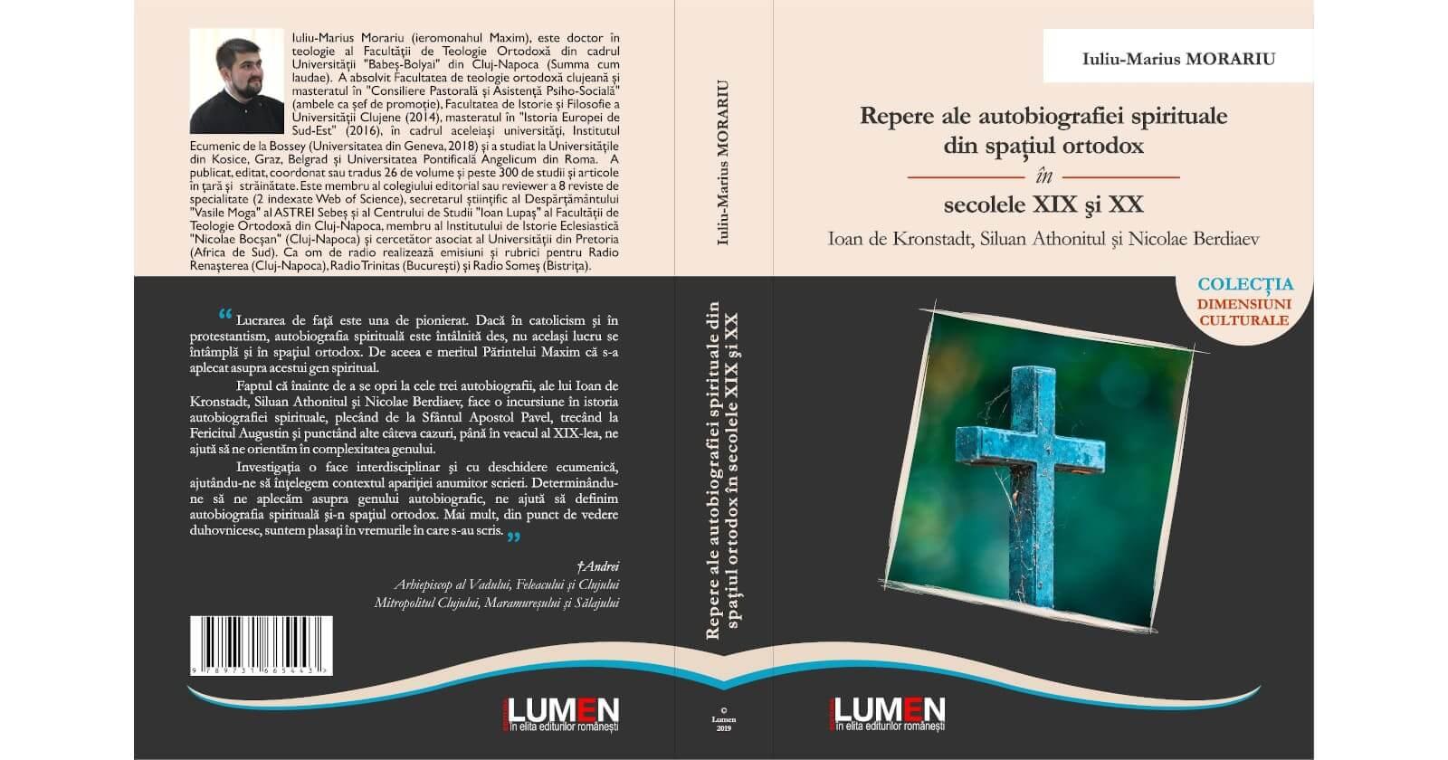 Repere ale autobiografiei spirituale din spaţiul ortodox