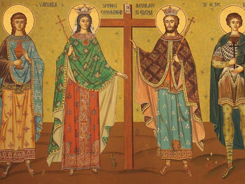 Sărbătoarea Sfinților Împărați Constantin și Elena