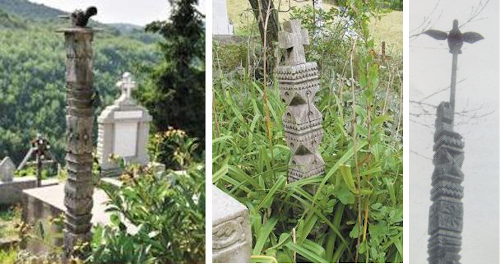 Stâlpul funerar - Axa Lumii - Arborele Vieții