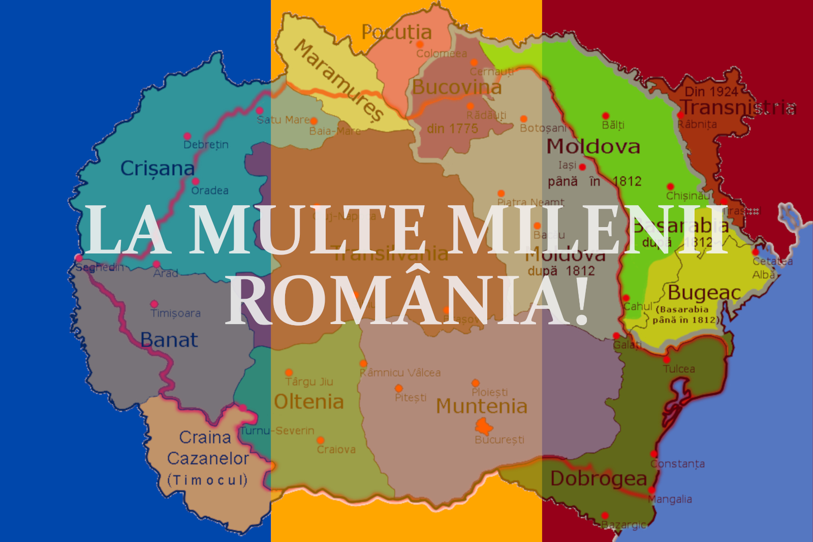 La multe milenii Românie dragă!